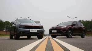 20万区间绕不过的两台SUV,领克01和RAV4怎么选?