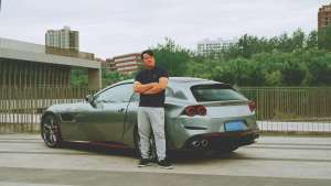 法拉利GTC4Lusso T首试:爱上她竟然是因为舒服?