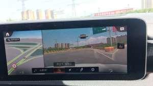 19款奔驰A200升级实景导航教学