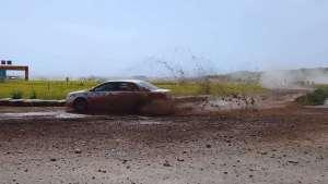 比亚迪秦征战张掖拉力赛,居然是唯一真正的国产汽车