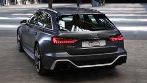 奥迪近日公布新款RS6 Avant,百公里加速仅需3.6秒