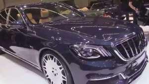 2020款Brabus 900梅赛德斯迈巴赫s650现身法兰克福车展
