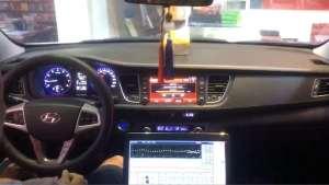 现代名图汽车音响改装升级,缔造别样音质--遵义强乐汽车音响