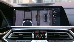 宝马X5升级原厂环视360全景影像案例分享
