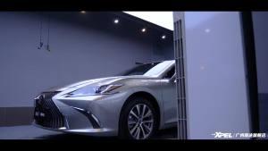 雷克萨斯ES200 施工XPEL隐形车衣——广州南途汽车贴膜
