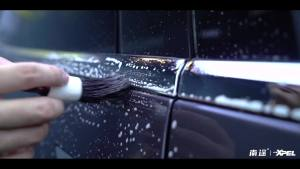 特斯拉MODEL X 施工XPEL 磨砂隐形车衣案例分享