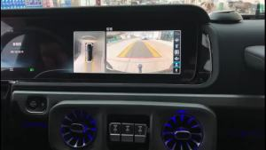 奔驰G500改装原厂360全景效果