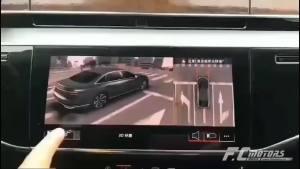 广州花都奥迪A7升级原厂3D全景影像,真清晰!