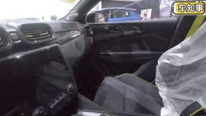 实拍领克03 |车内使用大量Alcantara材质,高级感立马就出来了