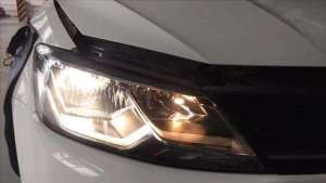 原车卤素大灯能直接改LED大灯吗?老司机经验多,不懂不要乱改