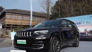 这款新能源SUV到底好不好开?试驾全新Jeep指挥官PHEV