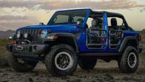 Jeep牧马人特别版新年亮相 硬朗!说的就是它!