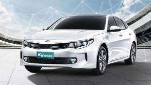电动GO   纯电续航75公里,百公里综合油耗1.3L,起亚K5插电混动版