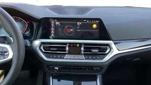抢鲜看:全新一代宝马3系中控屏设计,两种操作方式