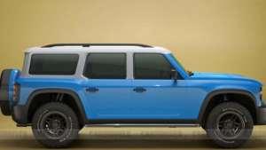 福特新SUV布朗克实车曝光,整体造型十分硬朗,硬汉感爆棚!