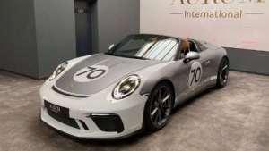 保时捷911的极美形态,实拍体验911 Speedster!