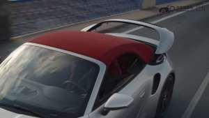 2021款保时捷911 Turbo S敞蓬跑车 最大扭矩800Nm,2.7秒破百