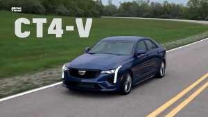全新凯迪拉克CT4-V、CT5-V来了,美式性能车颠覆想象!