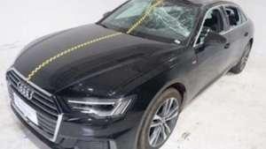 多项成绩优异,中保研发布一汽-大众奥迪A6L碰撞