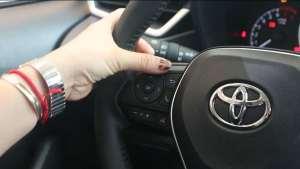 一汽丰田卡罗拉2019款1.2TS-CVT GL先锋版视频说明书-方向盘操作