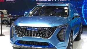 全新哈弗H6曝光 Concept H概念车的设计元素 将于今年8月上市
