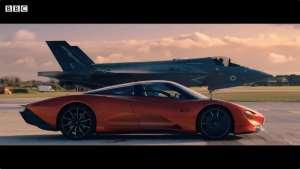 迈凯轮 Speedtail VS F35战斗机