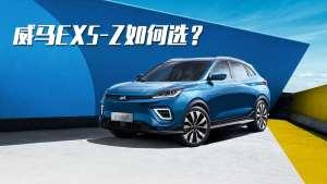 价格不到20万,续航超500km,威马EX5-Z该如何选?