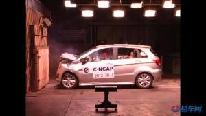 北汽E系列自动版 碰撞测试仅获三星