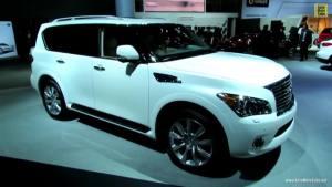 洛杉矶车展上的2013款英菲尼迪QX56
