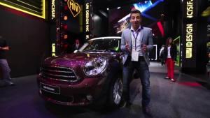 新车视频 全新款Mini Paceman参展巴黎