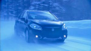 跨界风依旧 雪地试驾铃木天语SX4