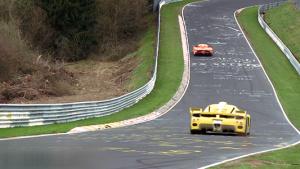 赛道风云 玛莎拉蒂MC12对决法拉利Enzo
