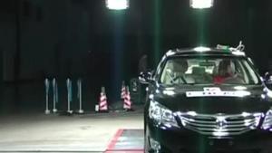 长安睿骋 C-NCAP安全测试侧面碰撞