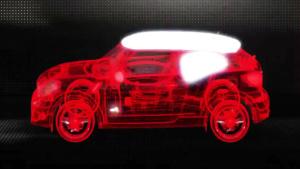 光影大作 全新MINI PACEMAN 3D展示