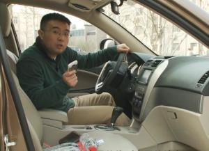 易车体验 试驾吉利全球鹰GX7储物篇