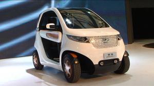 2013上海车展 新能源小车长城欧拉