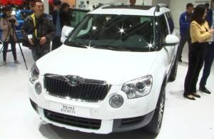 2013上海车展 斯柯达首款SUV—Yeti亮相