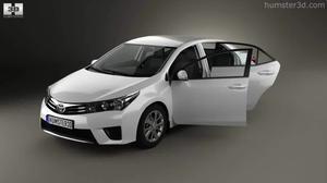 3D模型 2014款丰田卡罗拉内外展示