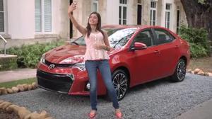 剩女找到新爱人 2014款丰田卡罗拉