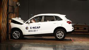 C-NCAP碰撞测试 众泰T600获得四星