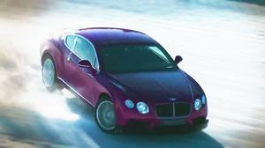 宾利冰上动力 全轮驱动超强附着力