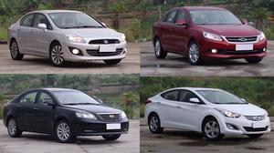车辆安全配置对比评测 4辆国产家轿厮杀
