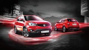 韩国双龙SUV爱腾 搭2.3L汽油发动机