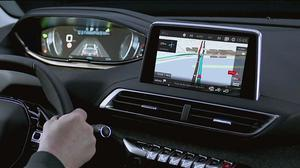 新款标致3008 配8英寸3D全智能导航