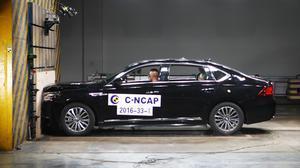 C-NCAP碰撞测试 广汽传祺GA8荣获5星