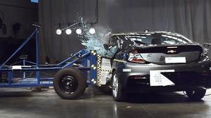 2017款雪佛兰沃蓝达 NHTSA侧面碰撞测试