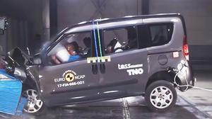 菲亚特Doblo E-NCAP碰撞测试获三星
