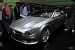 奔驰S Coupe概念车发布 亮相法兰克福车展