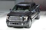 福特全新F150亮相底特律 或2015年底上市