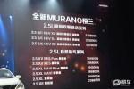 东风日产新楼兰上市 售23.88万-37.98万元